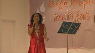 Aaj Mon Cheyeche Ami Hariye Jabo Live performance by Atreyee