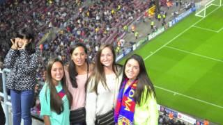 Fc barcelona soccer game -