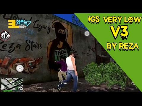 GTA SA ANDROID : Insanity Grove Street V3 Low By Reza