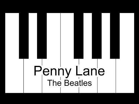 Penny Lane - The Beatles Piano Tutorial