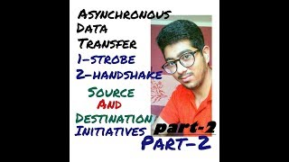 Asynchronous data transfer strobe control and handshaking part- 2