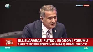 """Şenol Güneş: """"Bana Paracı Diyenler Bugün Ülkeyi Soyuyor!""""/ A Spor"""