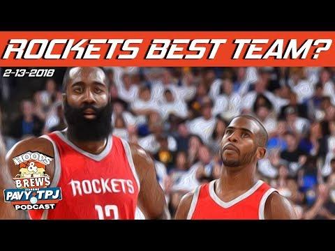 Houston Rockets Best Team in NBA ?   Hoops & Brews