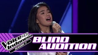 Syarla - Jangan Hilangkan Dia | Blind Auditions | The Voice Kids Indonesia Season 3 GTV 2018