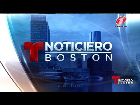 WNEU 60 - Noticiero Telemundo Boston - Full Newscast - 3/7/17