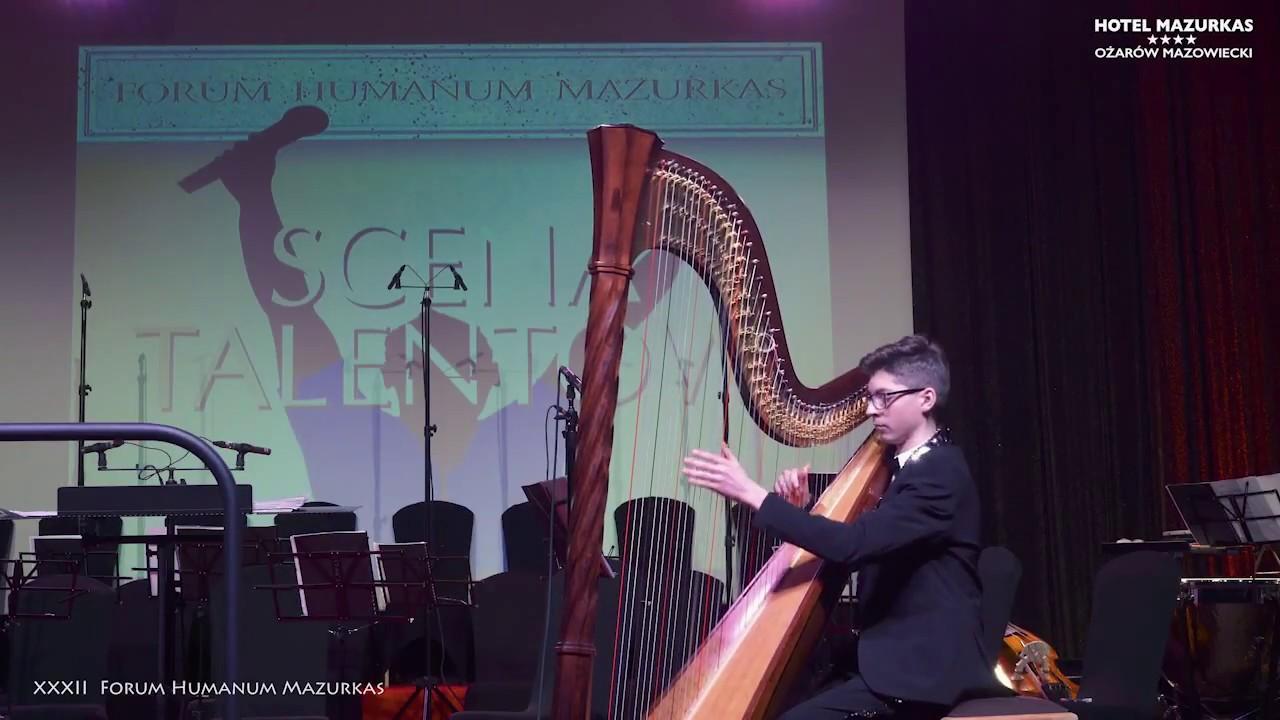 XXXII FHMazurkas - Scena Talentów-Marek Kupiec-harfa- Walc Es-dur August Durand