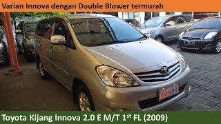 Toyota Kijang Innova 2.0 E 1st Facelift [AN40] (2009) review - Indonesia
