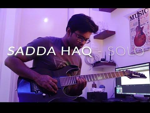 Sadda Haq Guitar Solo   Rockstar