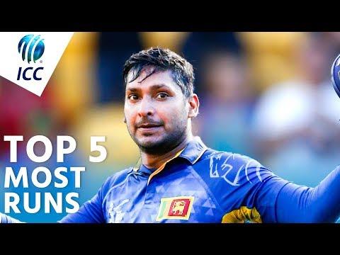 Under 19 cricket world cup  highest run scorer