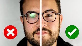 The Easy Way to Light People With Glasses and Avoid Glare