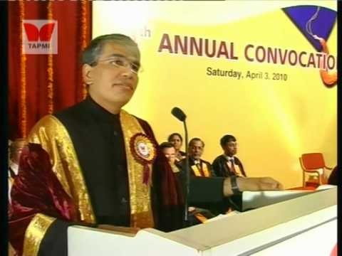Conovocation-2010 Mr. Manish Sabrwal Part #2