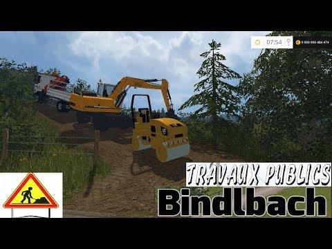 Farming Simulator 2015 | Map Bindlbach Travaux Publics | Épisode 2