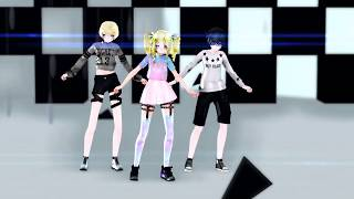 MMD X Black Butler Ciel Phantomhive Elizabeth Midford Alois Trancy Not Today 60fps DL