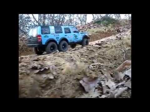 Discovery Land Rover >> RC 4x4 scale 1/10 - Land Rover Discovery 3 LR3-ta02-6x6-Axial-Villarbasse-09-12-2012 - YouTube