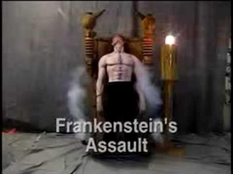 TheHorrorDome.com Frankenstein Chair House Halloween Animatronic Prop