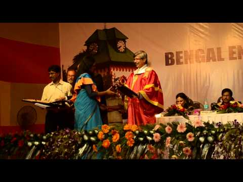 16th Annual Convocation of Bengal Engineering & Science University, Shibpur, 2014 - Part 11