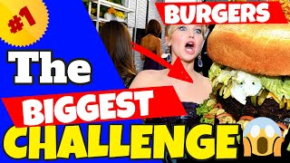 The BIGGEST Burger Challenges | Matt Stonie & Furious Pete