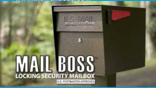 Mail Boss Locking Security Mailbox Commercial
