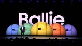 CES 2020 Samsung Ballie demo