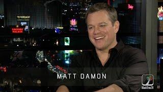 Matt Damon on being Bourne Again in  JASON BOURNE
