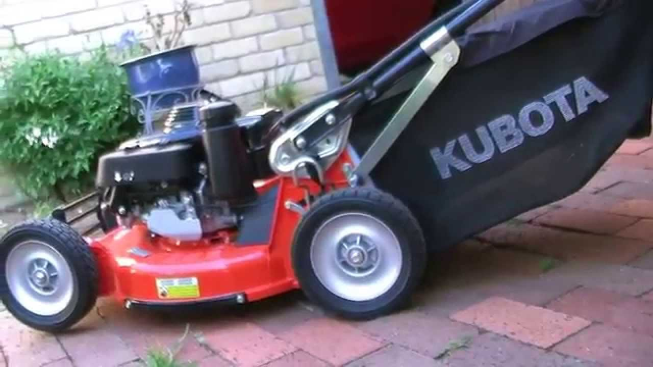 Kubota W821sc Au Youtube