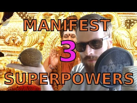 Manifest three Nithyananda superpowers right now (for free)
