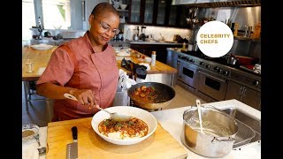 Celebrity Chefs Recipes: Tanya Holland's Creole BBQ Shrimp & Grits