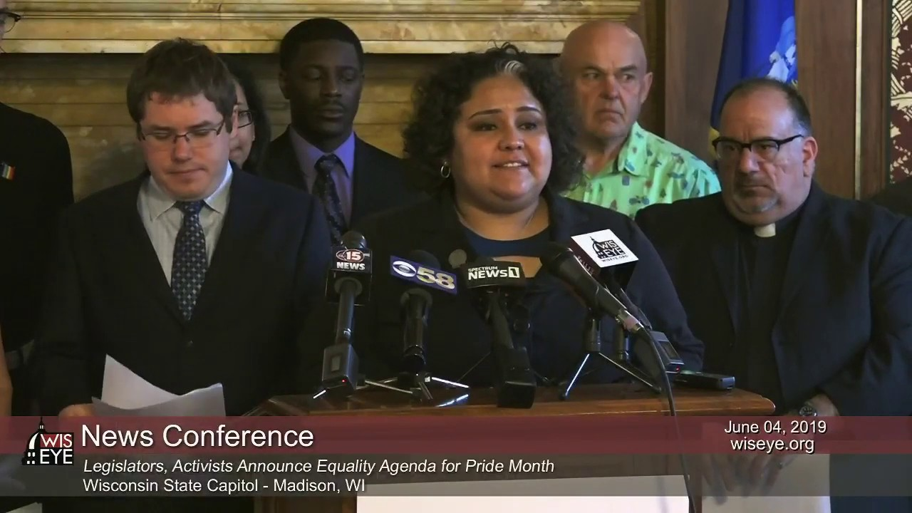 News Conference: Legislators, Activists to Announce Equality Agenda for Pride Month