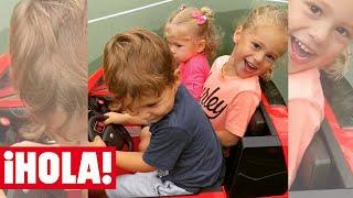 Los tres hijos de Enrique Iglesias y Anna Kournikova juntos en un divertido vídeo