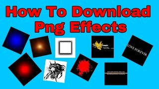 How to download editing material (png) for picsart
