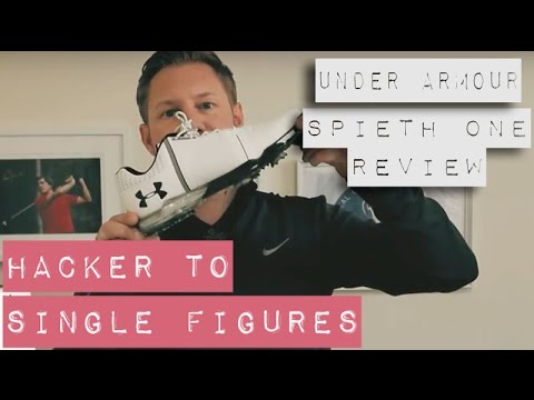 UNDER ARMOUR SPIETH ONE SHOE - FULL REVIEW - Hacker To Single Figures -