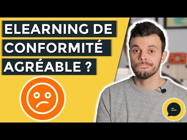 Comment rendre formation  elearning de conformité agréable et éviter l'ennuie ?