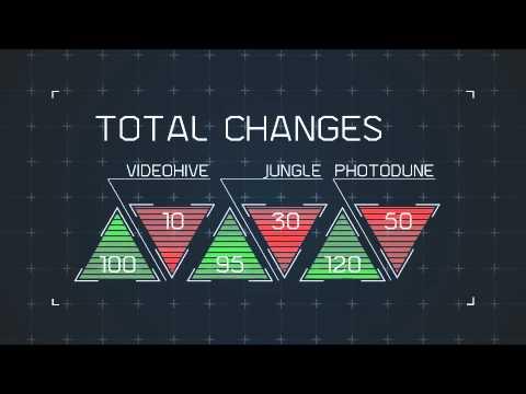 Futuristic Hud Infographics - YouTube