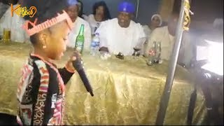 TERRIFYING TALENT! Little Girl Sings At Shina Peters Birthday