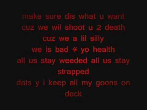 me and my goons plies lyrics