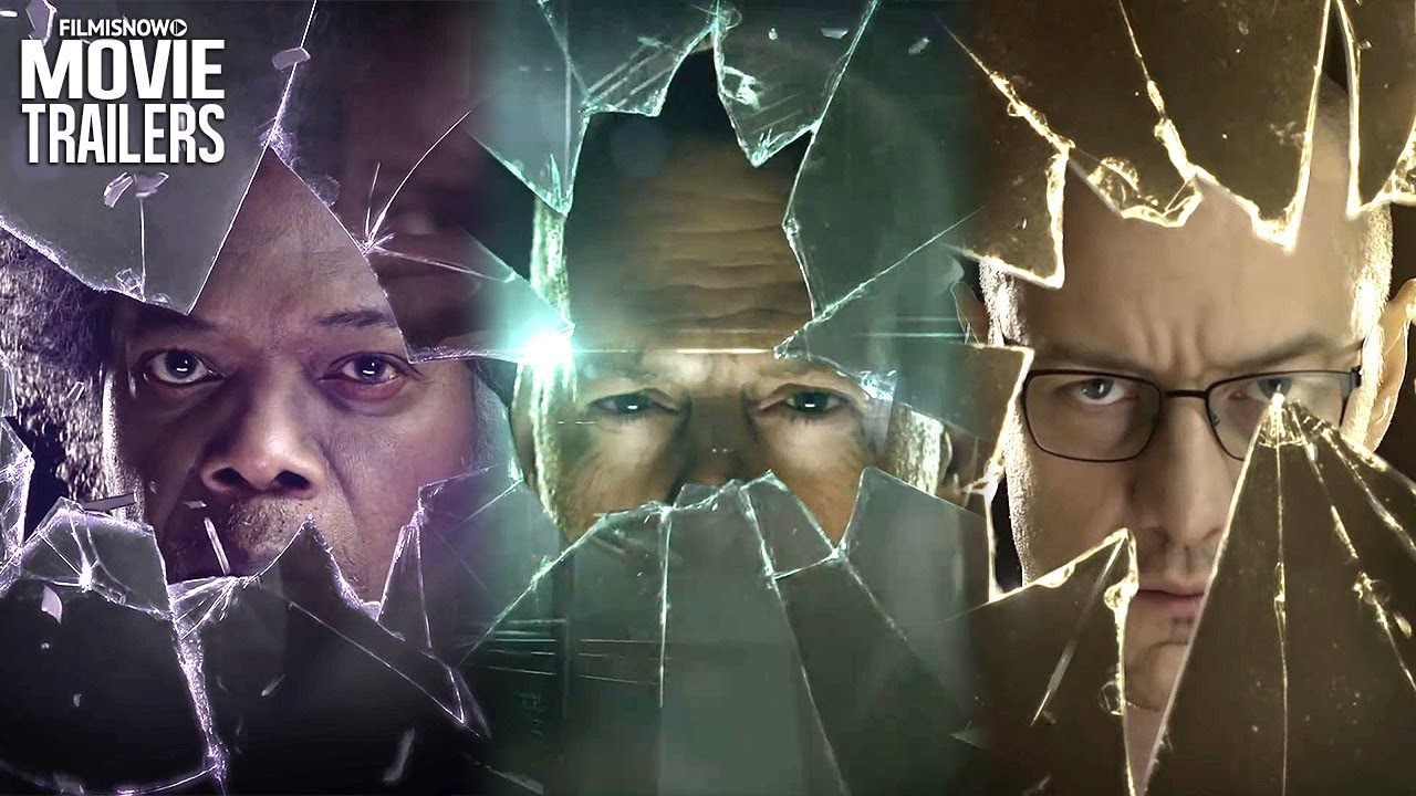 2019 Movie Poster Glass: GLASS Trailer Teasers NEW (2019)