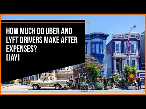 How Much Do Uber and Lyft Drivers Make AFTER Expenses? [Jay]