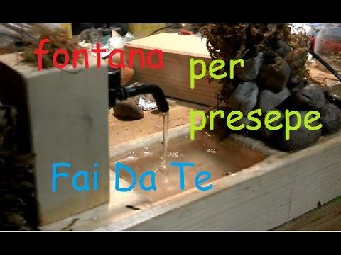Fontanella per il presepe fai da te for Fontana presepe fai da te