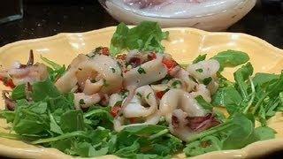 How To Make An Italian Calamari Salad : Italian Specialties