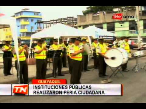 Instituciones públicas realizaron feria ciudadana