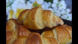 বসয় তর মজদর করসনট  Homemade Easy Croissant Recipe