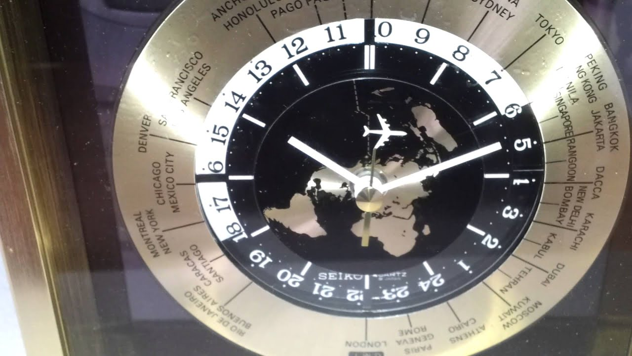 Seiko World Time Clock