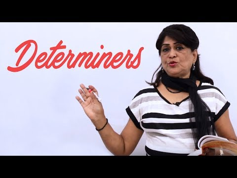 Determiners | English Grammar Lessons for Beginners | English Speaking Course
