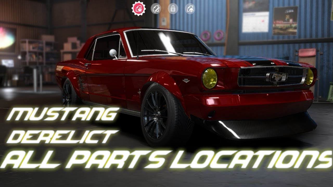 Need For Speed Payback Racing Series Direlect All Parts