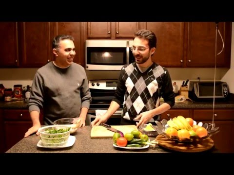 Cooking Adventures with Pooya & Babak -- Ceviche