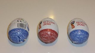 Surprise Eggs from FIFA World Cup 2018 Russia