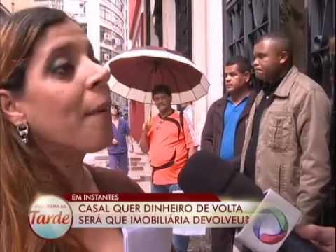 Casal dá R$ 10 mil de entrada em imóvel e fica sem a casa #ArquivoPatrulha
