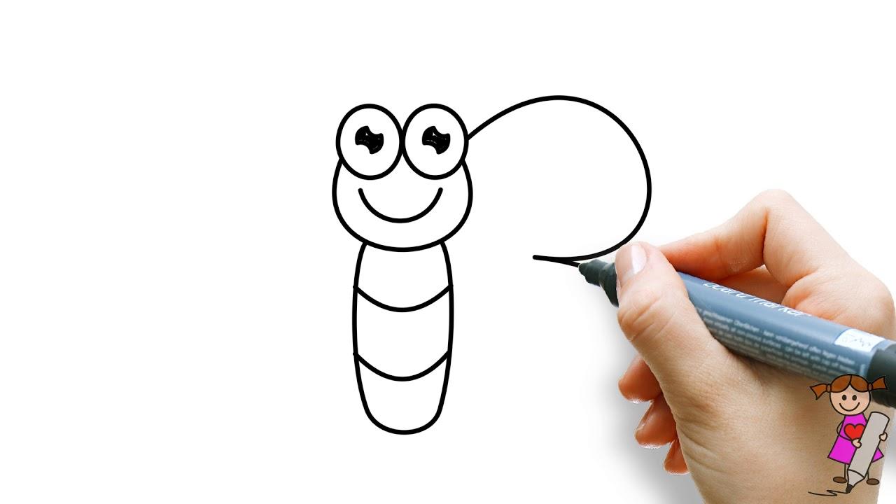 Genoeg ✏️Leer om een vlinder te tekenen voor kinderen (simpele tekening &TU34