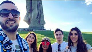 "Vlog 26 part 1- trip to Volgograd. زيارة تمثال ""مامايف"" مكان انهزام الألمان و ملعب مدينة فولغوغراد"
