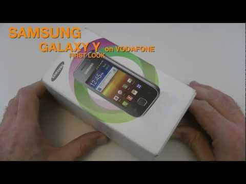 Samsung Galaxy Y Unboxing & First Look
